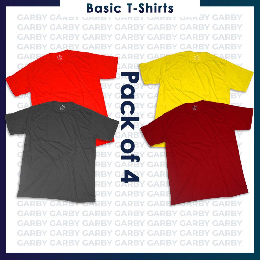 New Design - Pack 4shirt