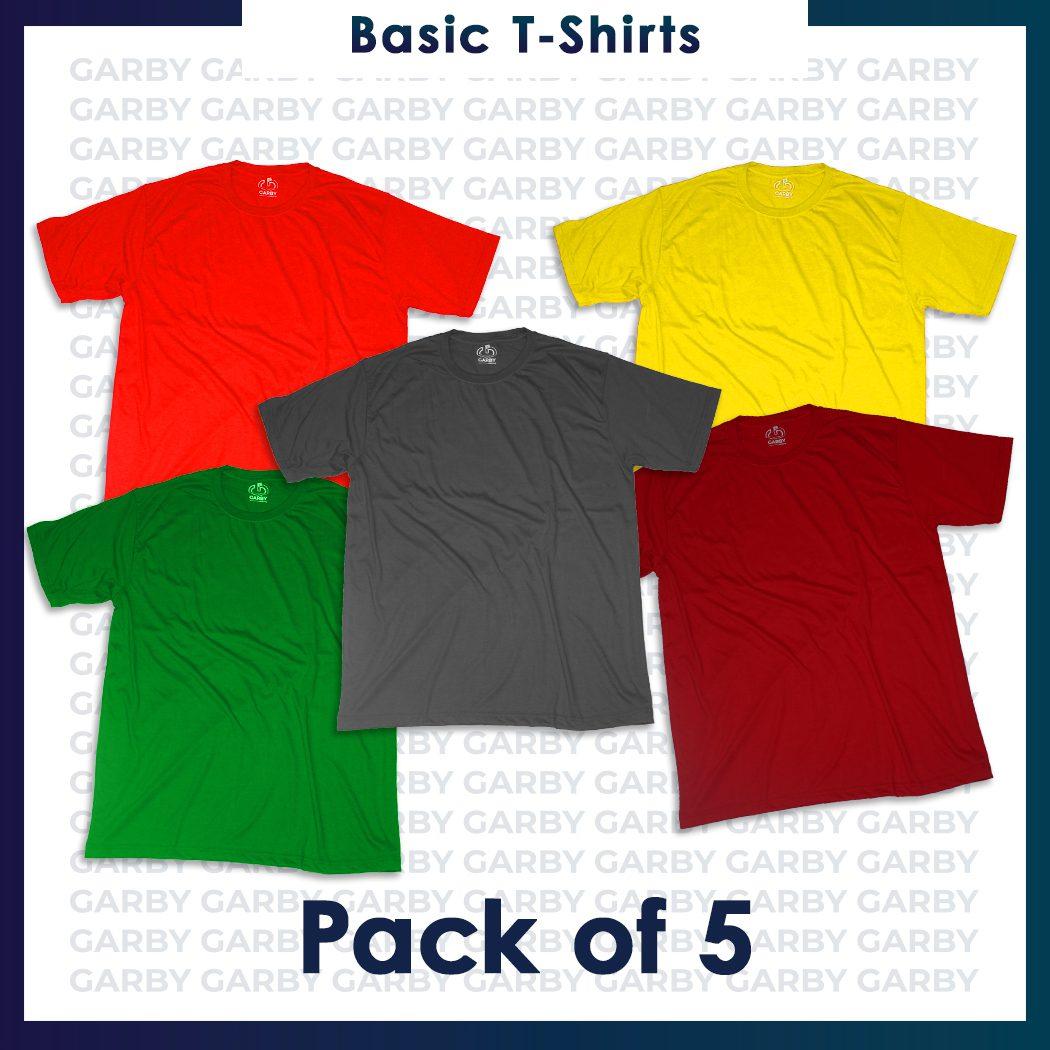 New Design - Pack 5shirt