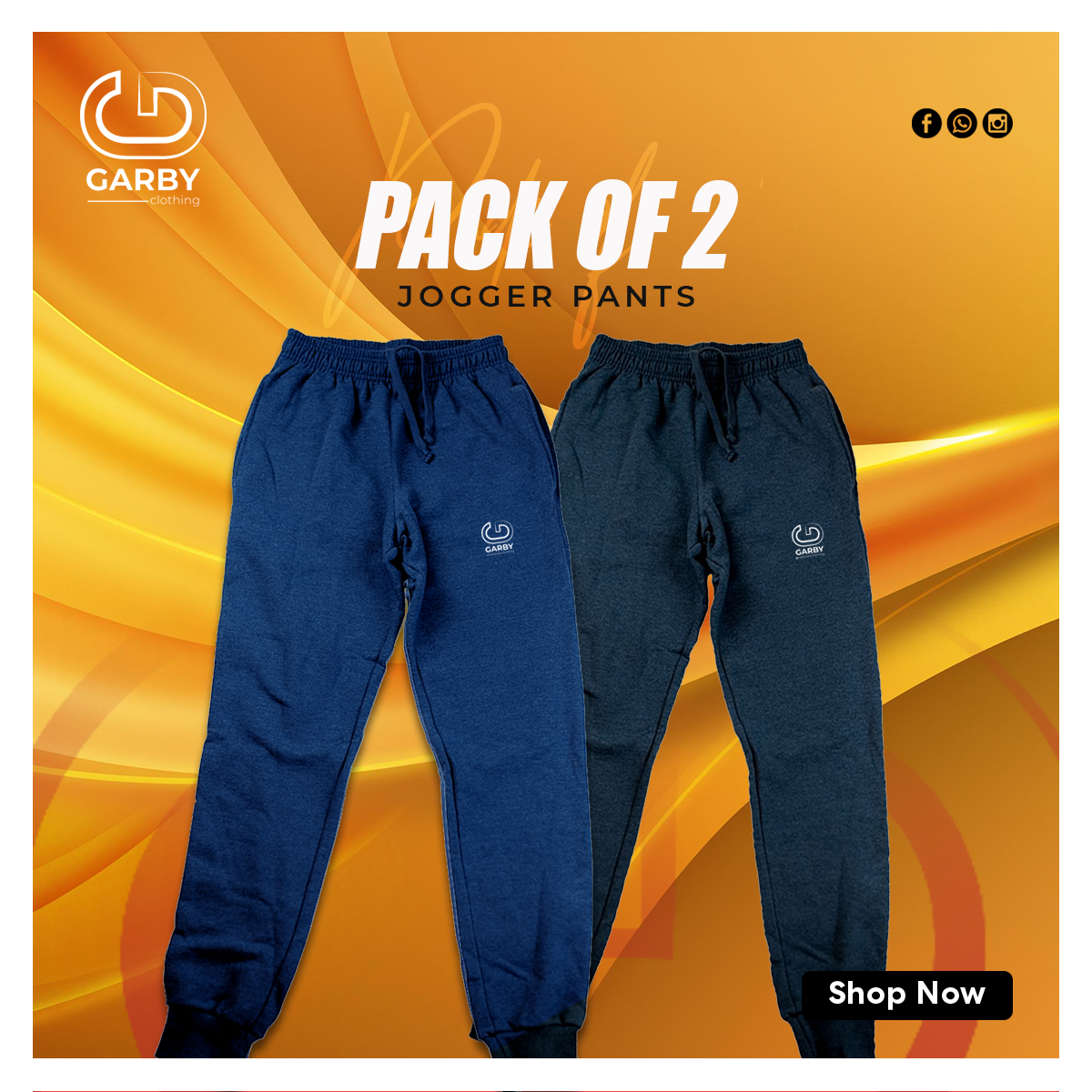 jogger pack of 2