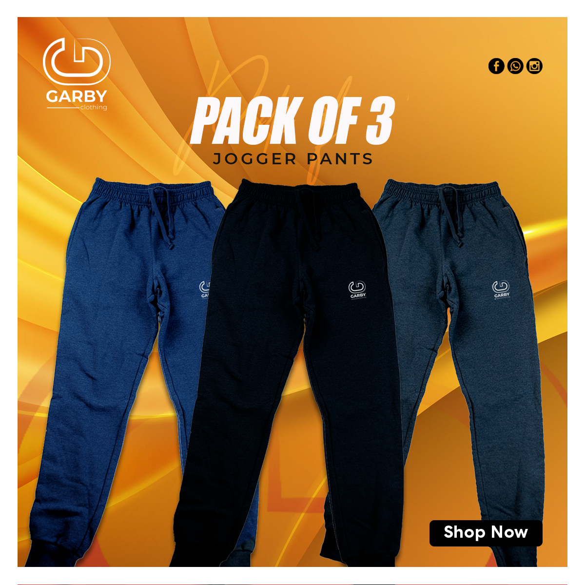 jogger pack of 3