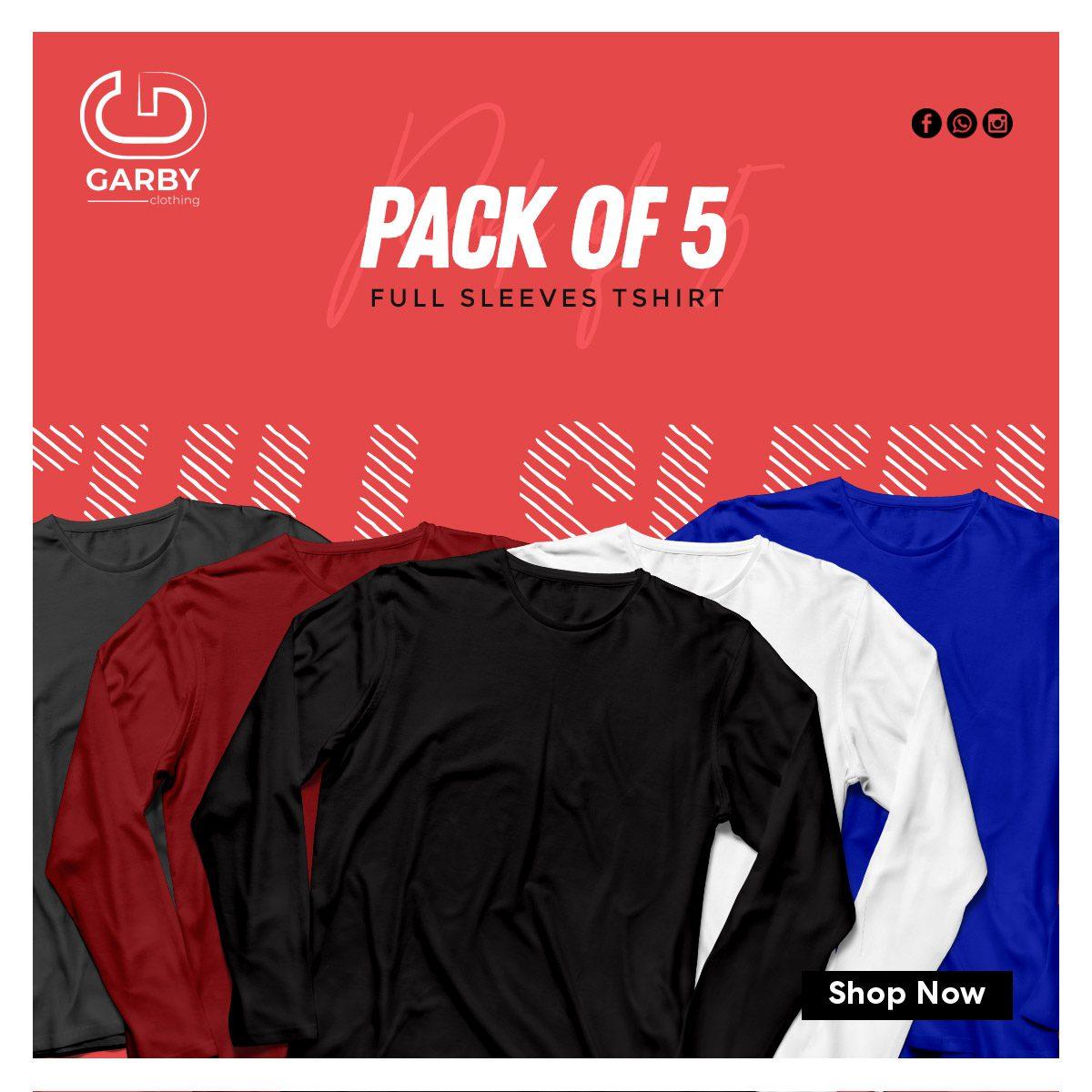 Pack-of-the-5-full-sleeves